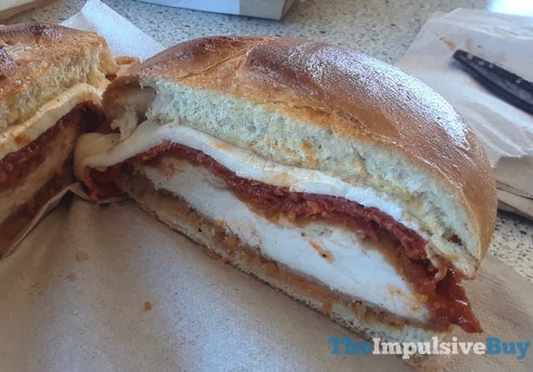 Arby s Chicken Pepperoni Parm Sandwich 3