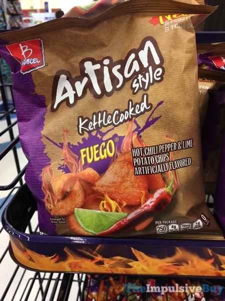 Barcel Artisan Style Kettle Cooked Fuego Potato Chips