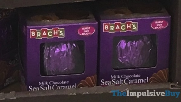 Brach s Milk Chocolate Sea Salt Caramel