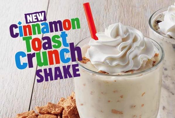 Burger King Cinnamon Toast Crunch Shake