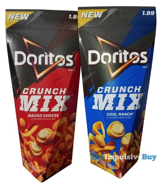 Doritos Crunch Mix  Nacho Cheese and Cool Ranch