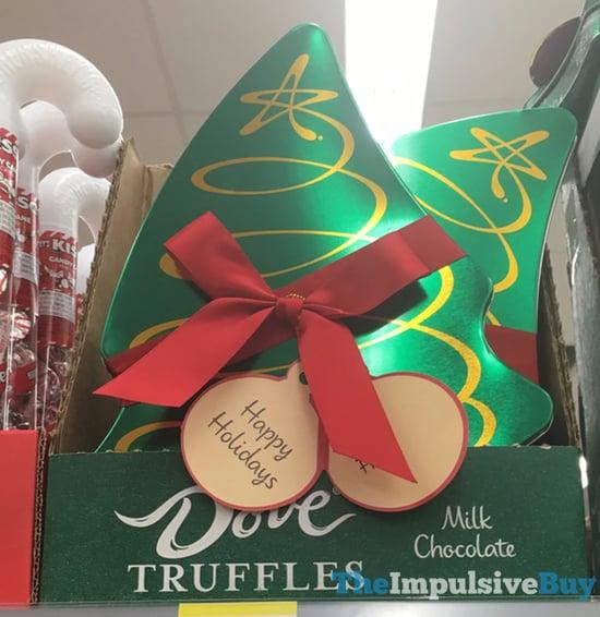 Dove Milk Chocolate Truffles 2017 Tree Design