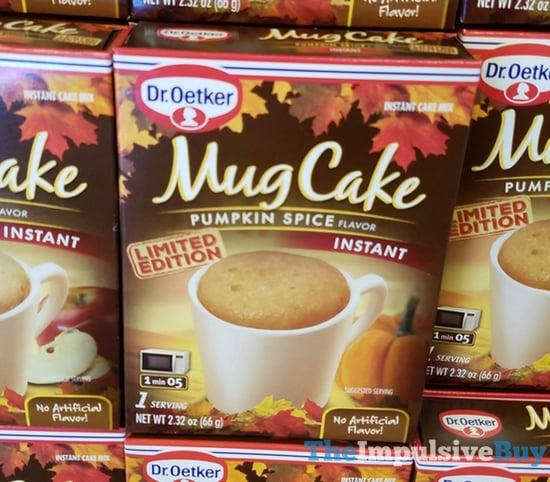 Dr Oetker Limited Edition Pumpkin Spice Mug Cake  2017