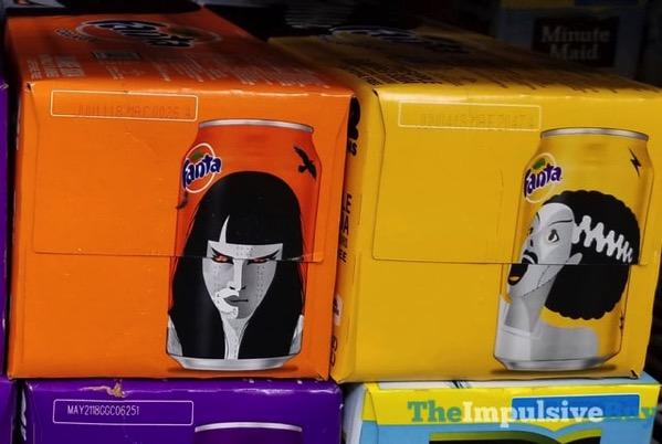 Fanta Halloween 2017 Cans  Orange and Pineapple