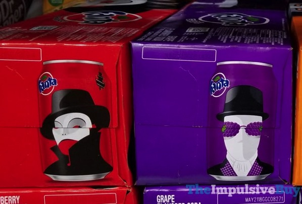 Fanta Halloween 2017 Cans  Strawberry and Grape