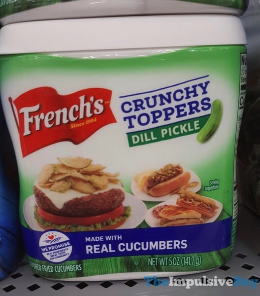 French s Crunchy Toppers Dill Pickle