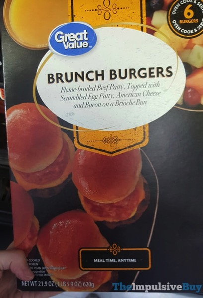 Great Value Brunch Burgers