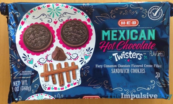 H E B Mexican Hot Chocolate Twisters