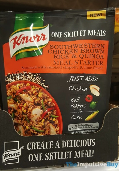 Knorr One Skillet Meals Southwestern Chicken Brown Rice  Quinoa Meal Starter