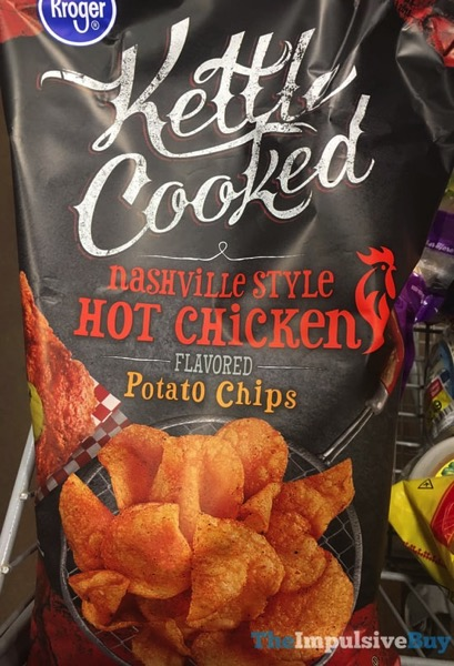 Kroger Kettle Cooked Nashville Style Hot Chicken Potato Chips