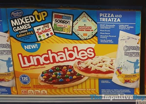 Lunchables Pizza and Treatza