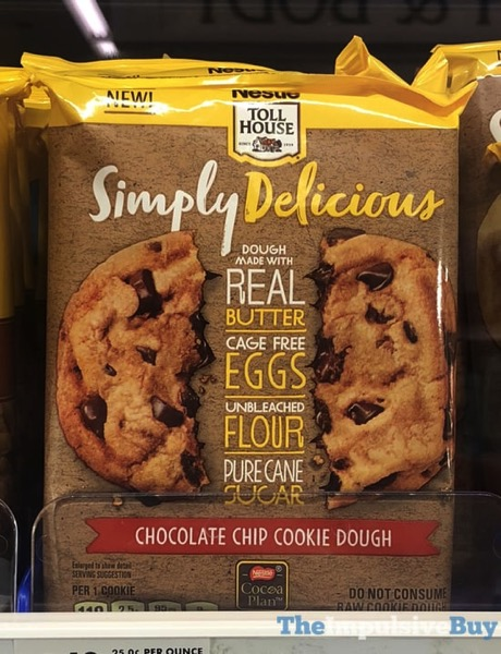 Nestle Toll House Simply Delicious Chocolate Chip Cookie Dough