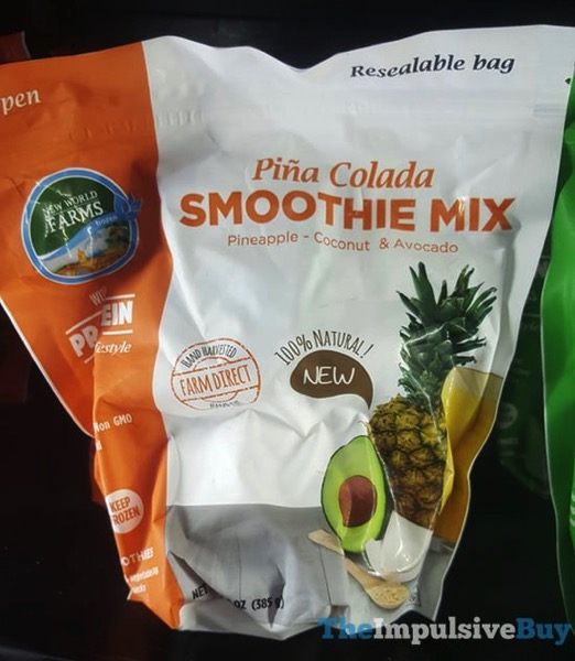 New World Farms Pina Colada Smoothie Mix
