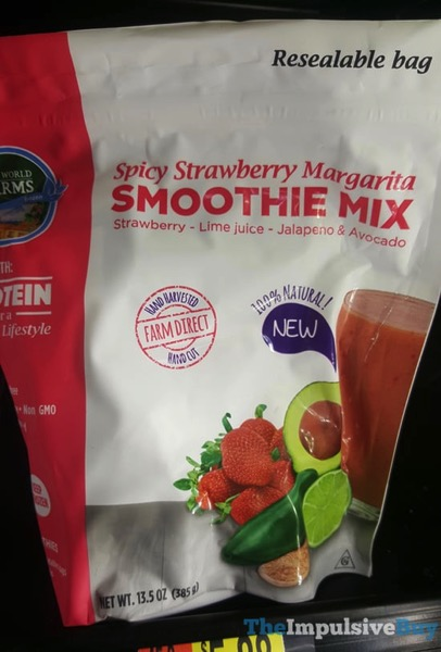 New World Farms Spicy Strawberry Margarita Smoothie Mix