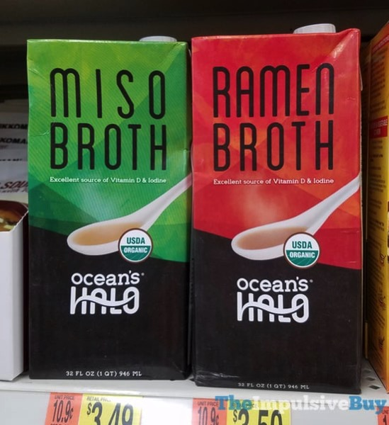 Ocean s Halo Miso Broth and Ramen Broth