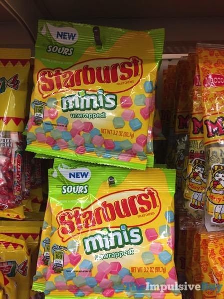 Starburst Sours Minis Unwrapped