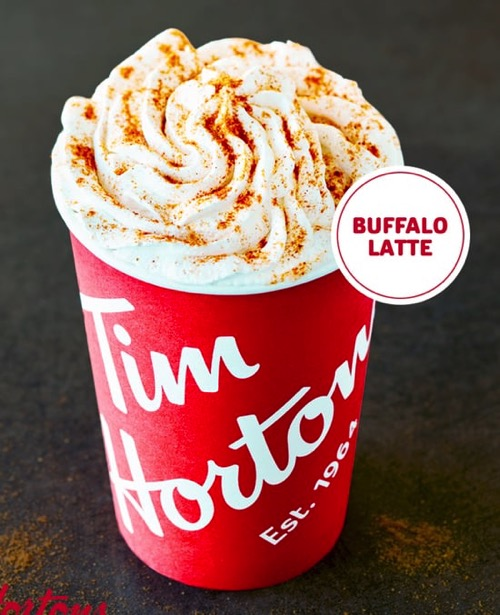 Tim Hortons Buffalo Latte