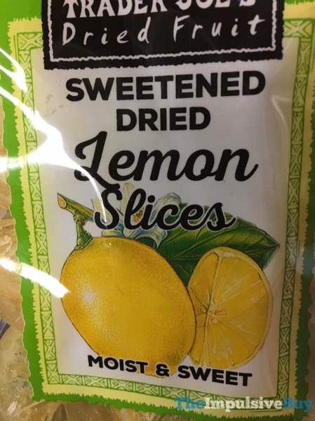 Trader Joe s Sweetened Dried Lemon Slices