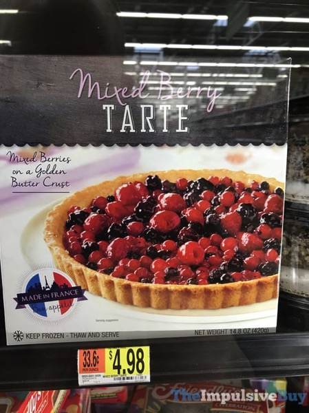 Unknown Brand Mixed Berry Tarte