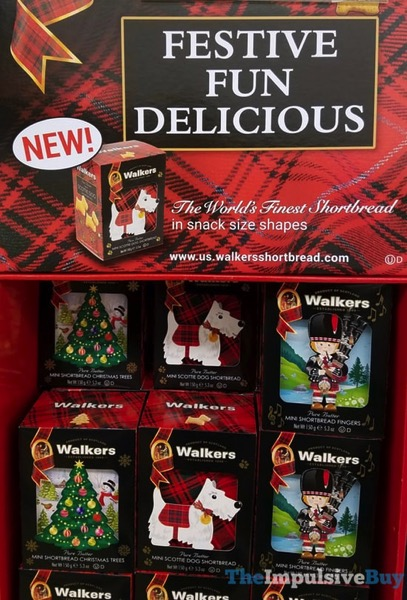 Walkers Pure Butter Mini Scottie Dog Shortbread