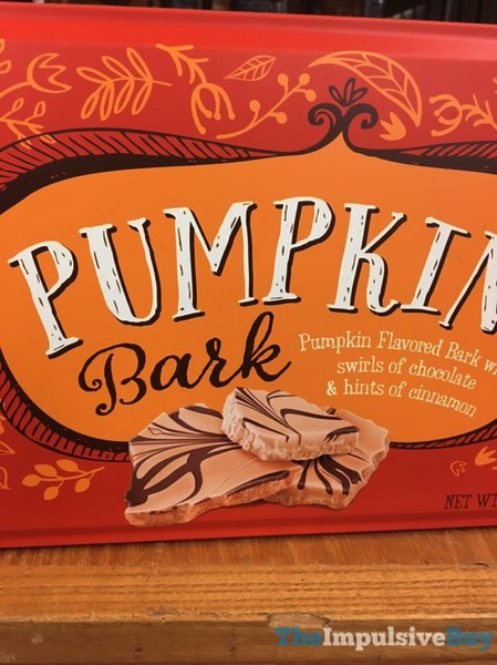 World Market Pumpkin Bark  2017