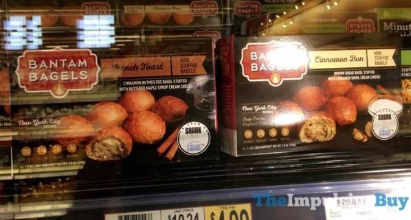 Bantam Bagels Mini Stuffed Bagels  French Toast and Cinnamon Bun