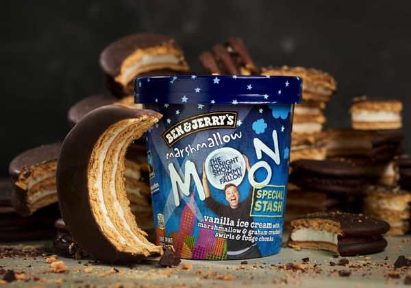 Ben  Jerry s Special Stash Marshmallow Moon
