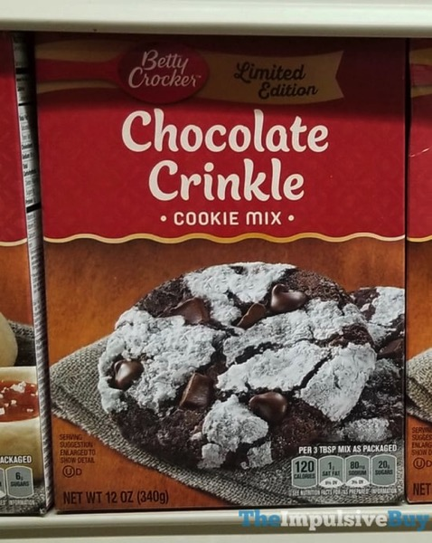 Betty Crocker Limited Edition Chocolate Crinkle Cookie Mix