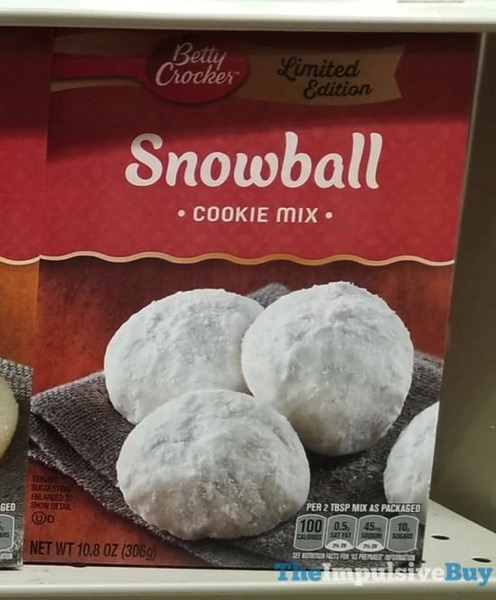 Betty Crocker Limited Edition Snowball Cookie Mix