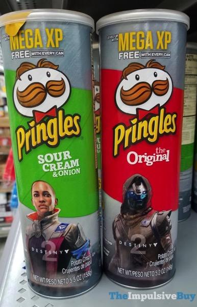 Destiny 2 Pringles Cans  Sour Cream  Onion and Original