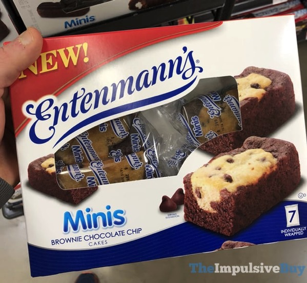 Entenmann s Mini s Browinie Chocolate Chips Cakes