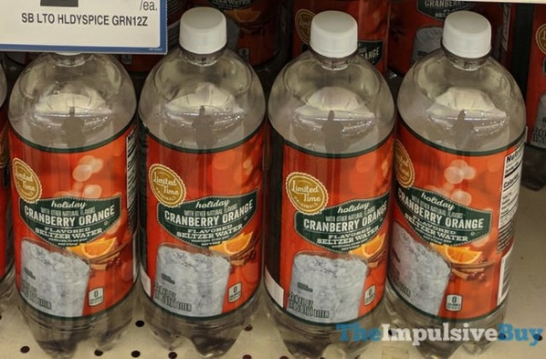 Giant Limited Time Originals Holiday Cranberry Orange Seltzer Water