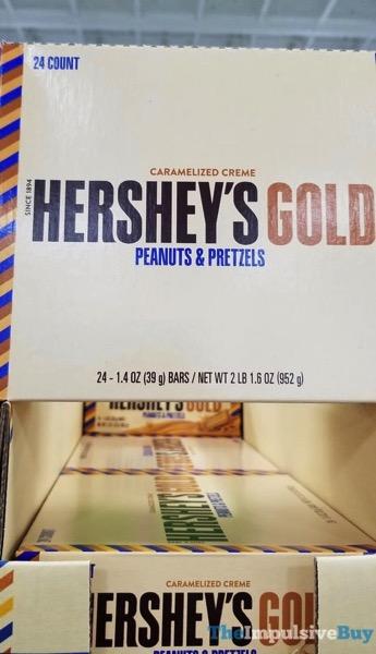Hershey s Gold Peanuts  Pretzels Bar Bulk Box