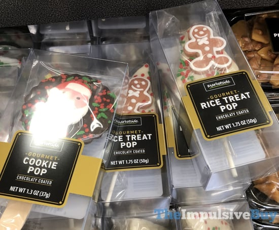 Marketside Gourmet Cookie Pop and Gourmet Rice Treat Pop