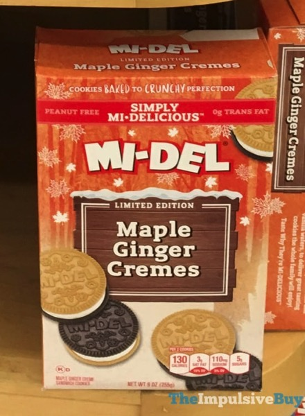 Mi Del Limited Edition Maple Ginger Cremes