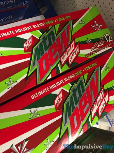 Mtn Dew Holiday Brew 12 pack