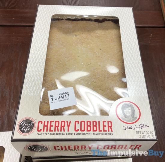 Patti s Good Life Cherry Cobbler