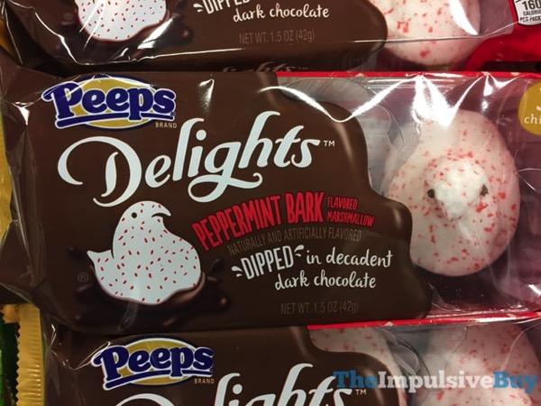 Peeps Delights Peppermint Bark
