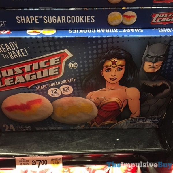 Pillsbury Justice League Shape Sugar Cookies