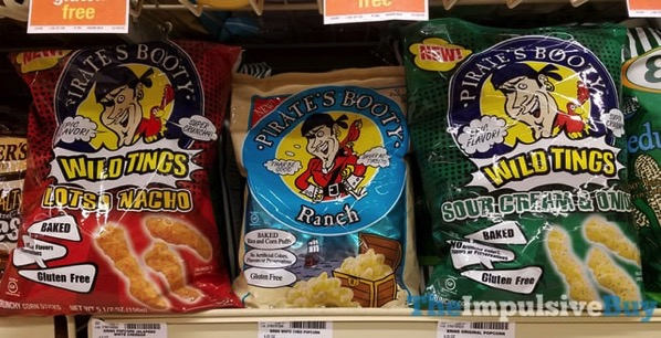 Pirate s Booth Wild Tings Lotsa Nacho and Sour Cream  Onion and Pirate s Booty Ranch