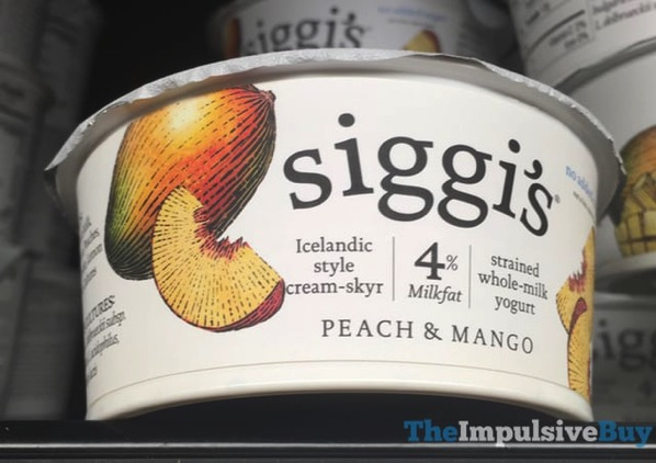 Siggi s Peach  Mango Yogurt