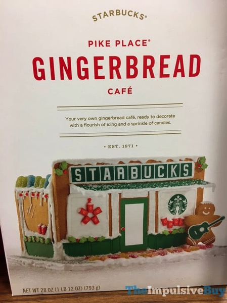 Starbucks Pike Place Gingerbread Cafe