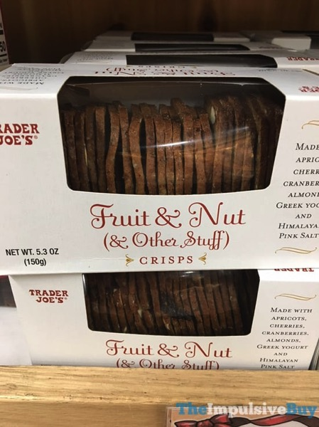 Trader Joe s Fruit  Nut  Other Stuff Crisps