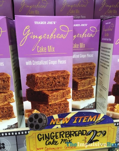 Trader Joe s Gingerbread Cake Mix with Crystallized Ginger Pieces