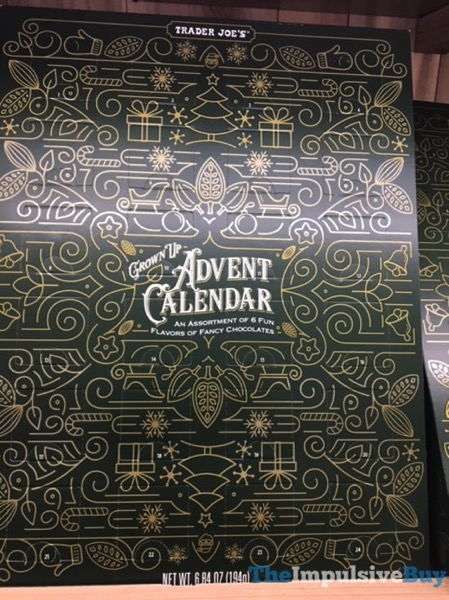 Trader Joe s Grown Up Advent Calendar
