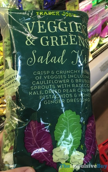 Trader Joe s Veggies  Greens Salad Kit