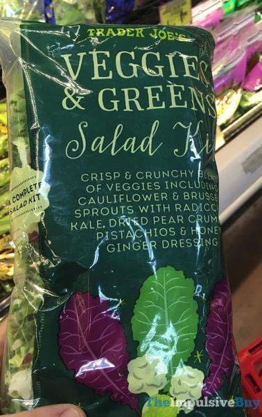 Trader Joe s Veggies  Greens Salad Kit