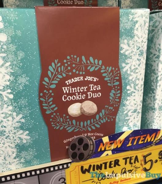 Trader Joe s Winter Tea Cookie Duo