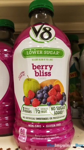 V8 Lower Sugar Berry Bliss