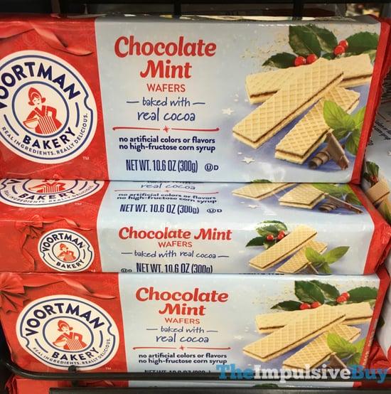 Voortman Bakery Chocolate Mint Wafers